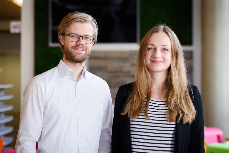 die Gründer von laleby Luisa und Tobias Cors Musik-Streaming-Player
