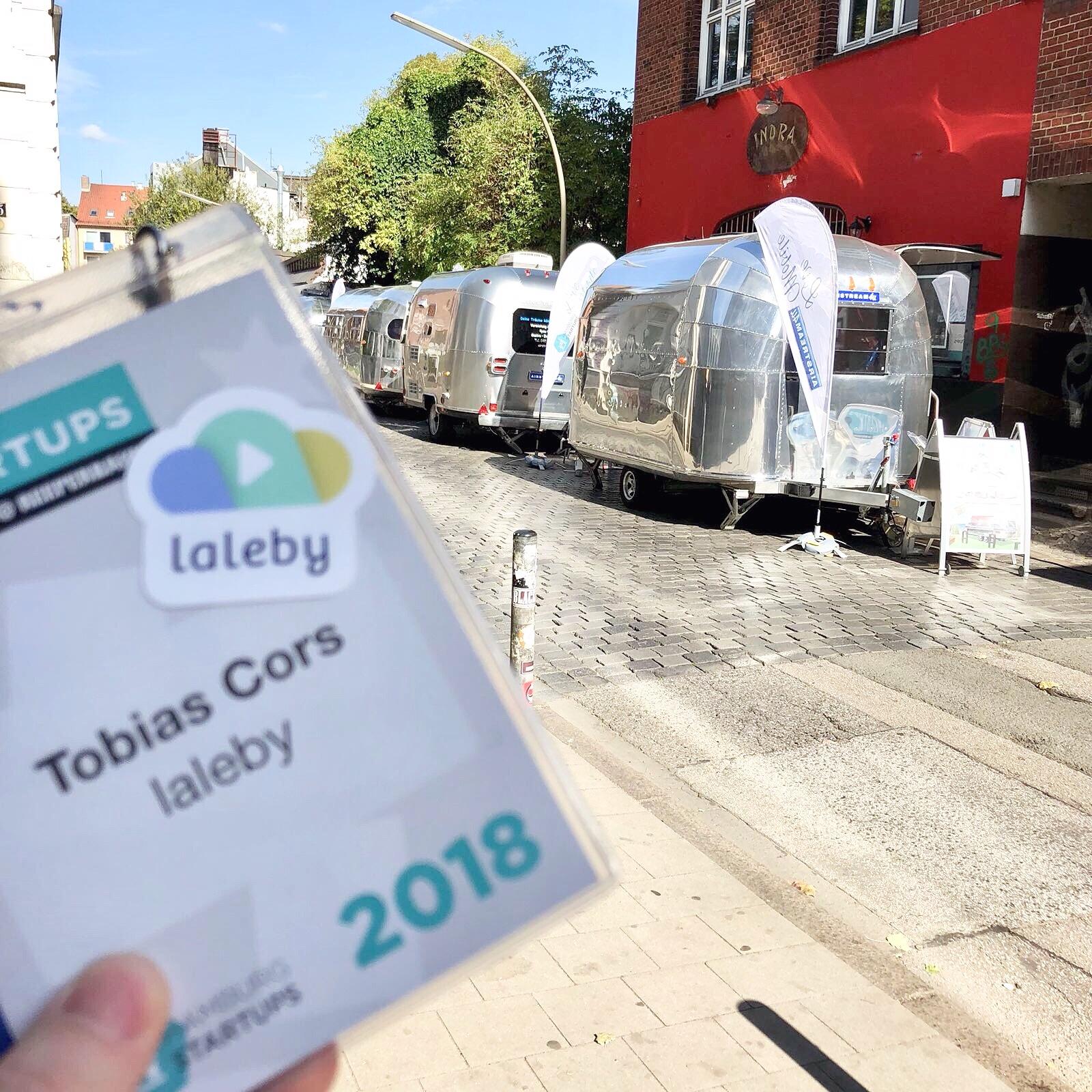 laleby beim Reeperbahn Festival Blinddate Startups@Reeperbahn